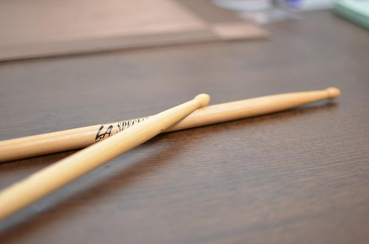 ドラム、始めました。